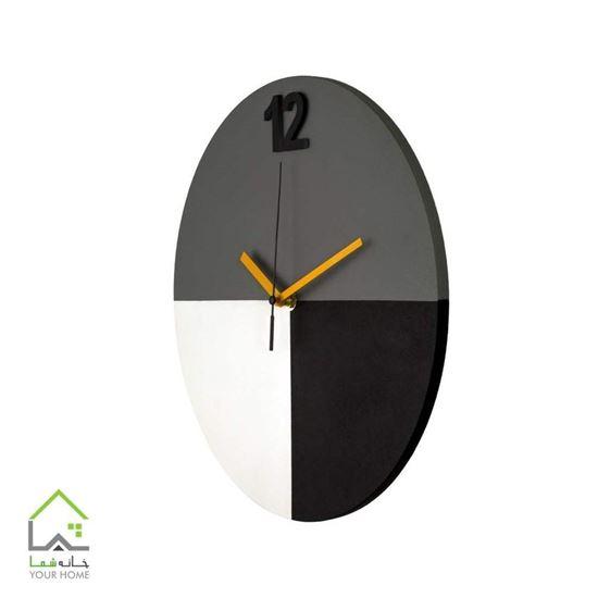 ساعت دیواری آرام مدل هنرکار SD1014
