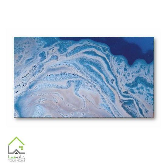 تصویر تابلو دیواری طرح امواج