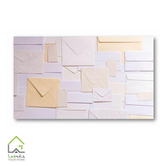 تصویر تابلو دیواری طرح پاکت نامه