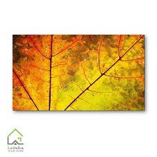 تصویر تابلو دیواری طرح برگ پاییزی