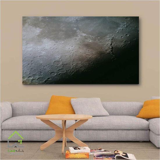 تصویر تابلو دیواری طرح ماه