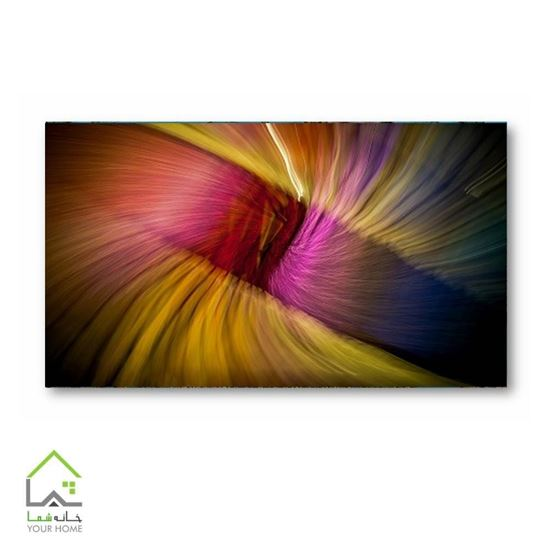 تصویر تابلو دیواری طرح رنگ هایش