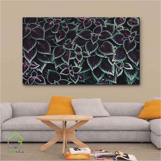 تصویر تابلو دیواری طرح برگ