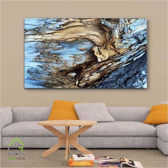 تصویر تابلو دیواری طرح چوب