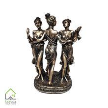 مجسمه سه دختر (سایز بزرگ) 50سانت در 3 رنگ