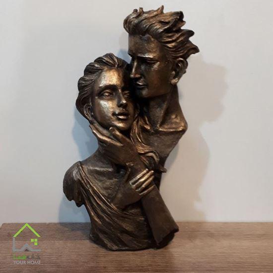 تصویر مجسمه طرح مهر عشق