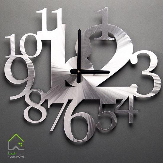 ساعت دیواری طرح عدد