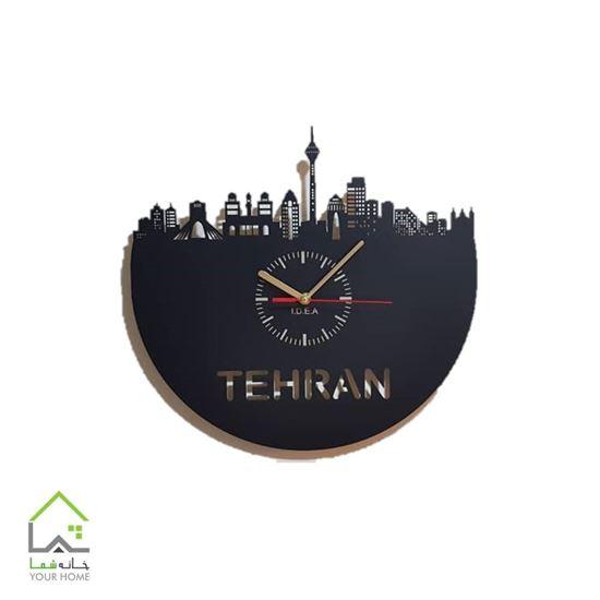ساعت دیواری طرح تهران برج میلاد