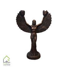 تصویر شمعدان طرح فرشته مصری