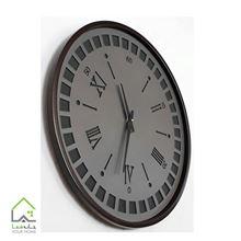 ساعت دیواری چوبی حلقه ای لومینوس