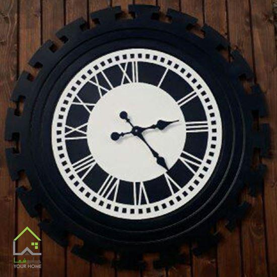 ساعت دیواری تمام چوب طرح ورساچه لومینوس