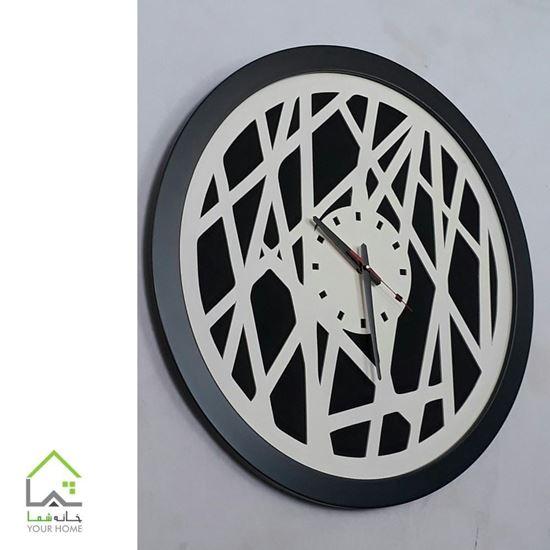ساعت دیواری لومینوس تمام چوب