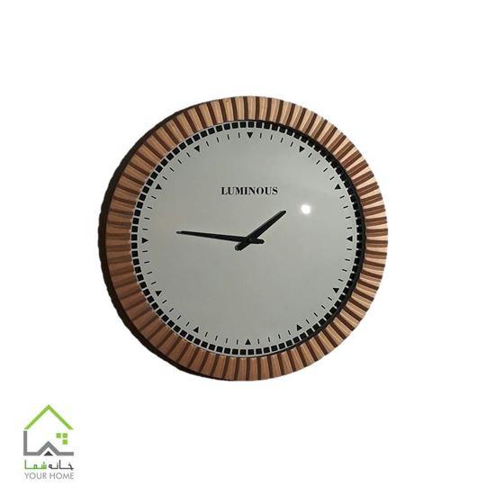 تصویر ساعت دیواری لومینوس
