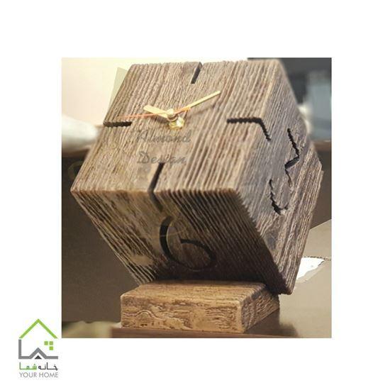 ساعت دیواری چوبی CL104