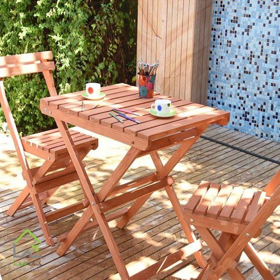 صندلی چوبی تاشو