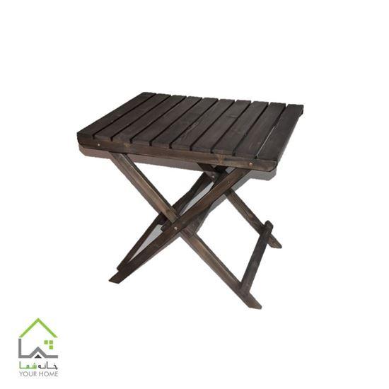 میز چوبی تاشو