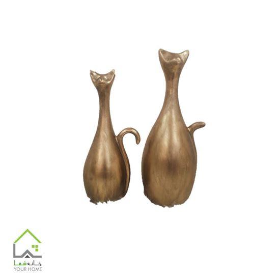 مجسمه گربه مینیاتوری