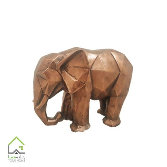 مجسمه فیل گرافیکی