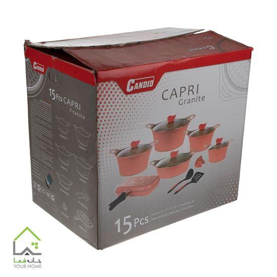 سرویس 15 پارچه کاندید مدل کاپری CAPRI