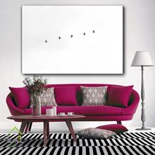 تابلو دیواری پنج پرنده