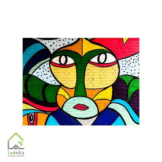 تابلو مدرن بودا