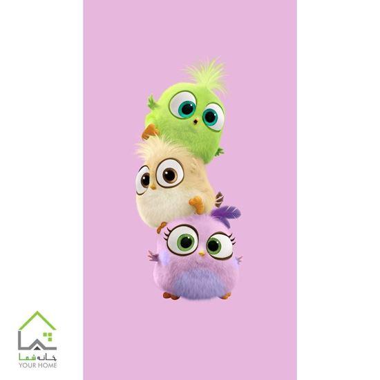 تابلو فانتزی اتاق کودک و نوجوان انگری برد Angry Birds