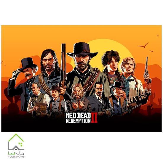 تابلو مدرن بازی کنسول پلی استیشن و ایکس باکس ردد2 Red Dead Redemption II