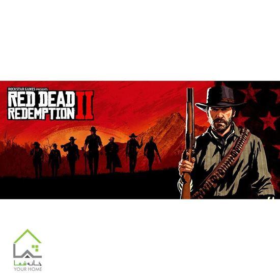 تابلو دیواری بازی کنسول پلی استیشن و ایکس باکس ردد2 Red Dead Redemption II