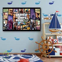 تابلو دکوری بازی پلی استیشن و ایکس باکس جی تی ای Grand Theft Auto
