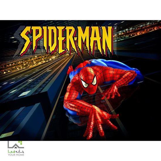 تابلو پسرانه انیمیشن کارتون اسپایدر من Spider-Man