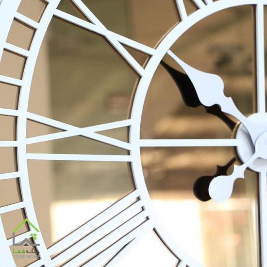 ساعت دیواری مدرن سفید