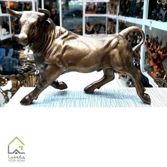 مجسمه دکوری گاو لیموزین