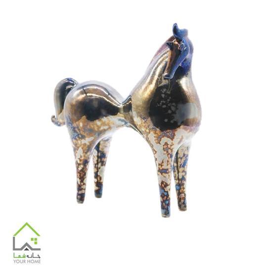 مجسمه اسب سرامیکی