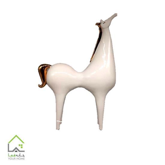 مجسمه سرامیکی اسب