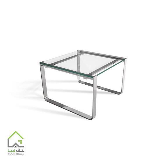 میز عسلی شیشه ای بریل