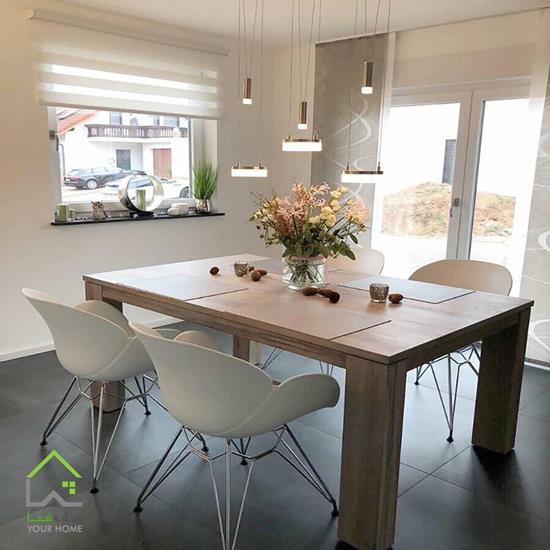 صندلی پایه ایفلی آشپزخانه