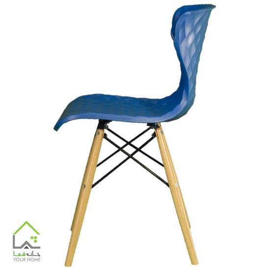صندلی پایه چوبی دیاموند