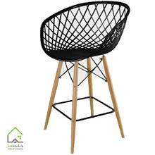 صندلی اپن پایه چوبی سوپر راش بنیزان