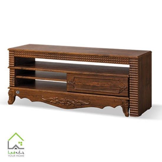 میز تلویزیون چوبی لوکس