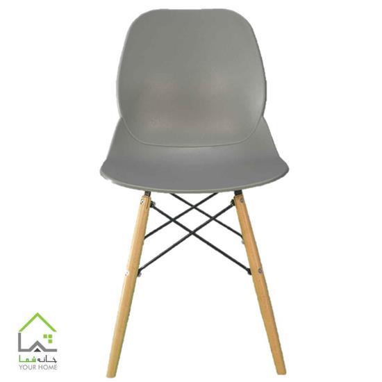 صندلی پایه چوبی ثابت مدل کندو بنیزان