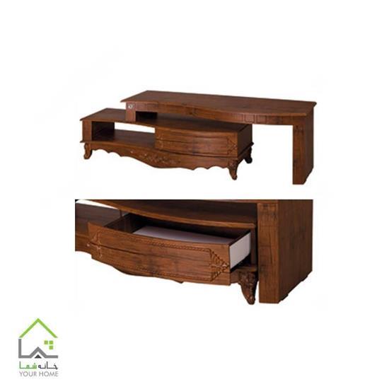 میز تلویزیون چوبی طرح جدید