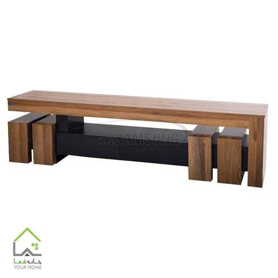 میز تلویزیون چوبی جذاب