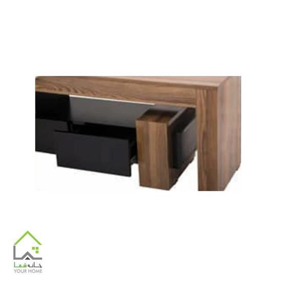 میز تلویزیون چوبی فانتزی طرح جدید