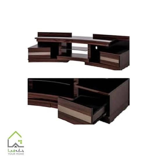 میز تلویزیون با طراحی منحنی جدید