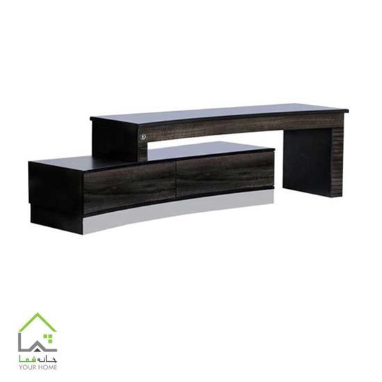 میز تلویزیون با طراحی منحنی