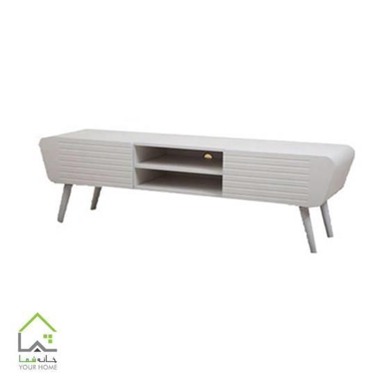 میز تلویزیون سفید صحرایی
