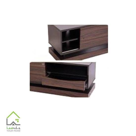 میز تلویزیون چوبی مینیمال طرح جدید