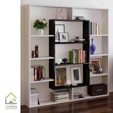 کتابخانه چوبی ساده