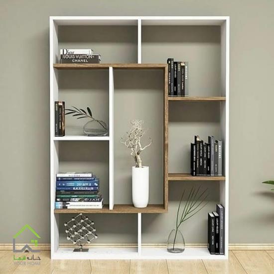 کتابخانه چوبی لوکس