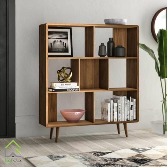 کتابخانه چوبی پایهدار
